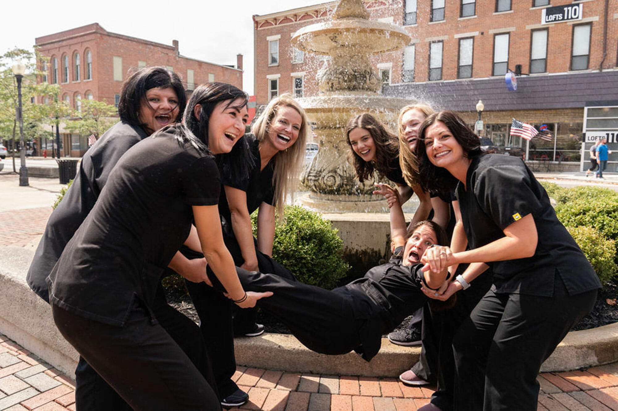 Logan Dental Care Team Photo